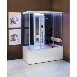 Паровая и гидромассажная кабина + гидромассажная ванна VARIO (Balteco Xonyx™)